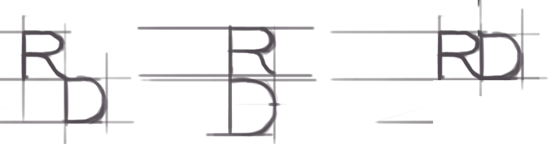 RD Logo Sketches