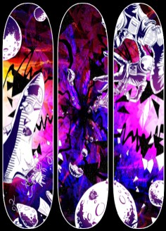 """""""The Black Hole Triptych"""" Series"""