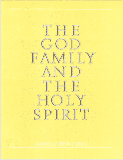 The God Family and the Holy Spirit