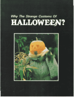Why The Strange Costumes of HALLOWEEN?
