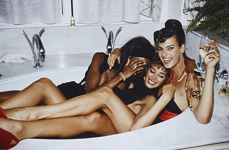 Naomi Campbell, Christy Turlington and Linda Evangelista by Steven Meisel