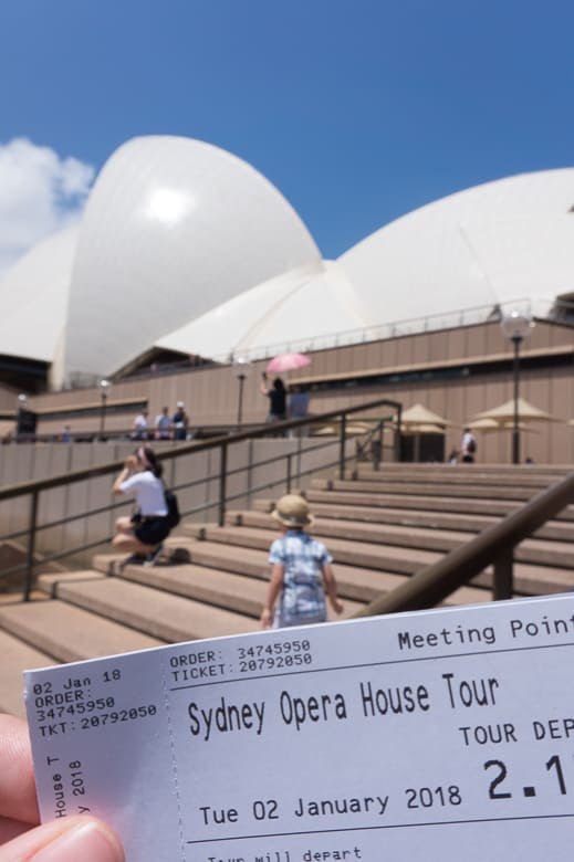 Sydney Opera House Tour Review