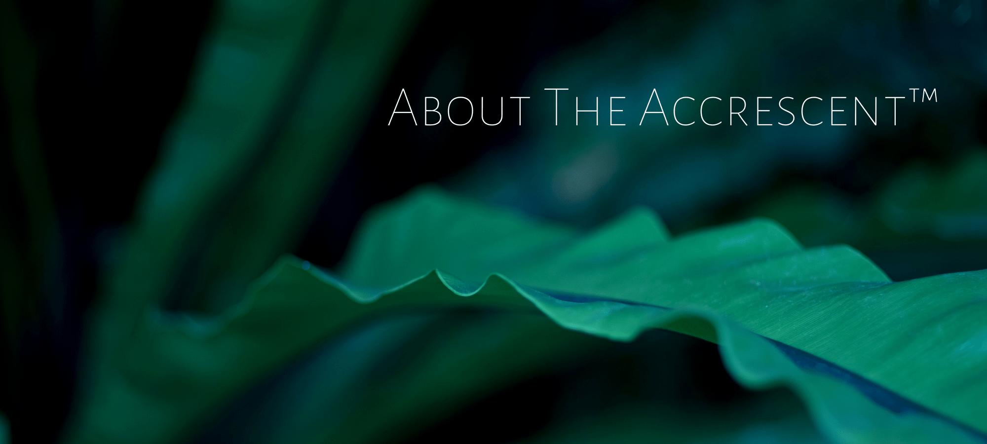 The Accrescent™ - Bioenergetic Healing