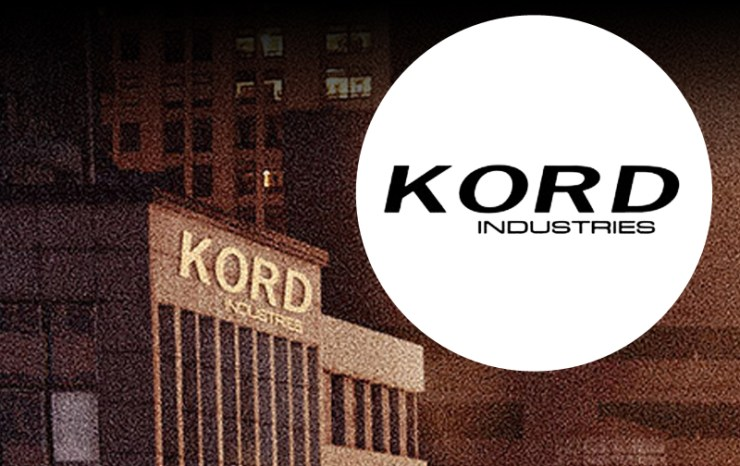 kord industries on Flash poster