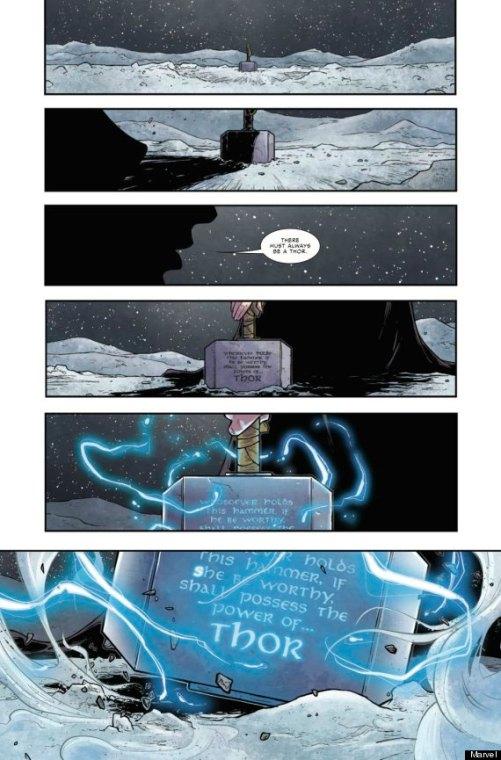 "Thor page 27 ""Thor revealed"""