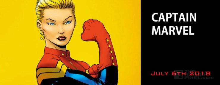 Captain Marvel – July 6,  2018