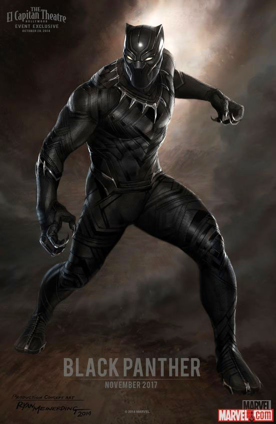 Black Panther Poster Concept @TheActionPixel