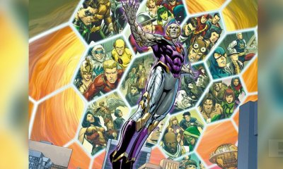 Exclusive DC Comics 'Convergence' art by Carlo Pagulayan (pencils), Jose Marzan Jr. (inks) and Hi-Fi Colour (colors).