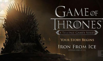 Games of Thrones from Telltale Games. Iron from Fire. THE ACTION PIXEL @theactionpixel