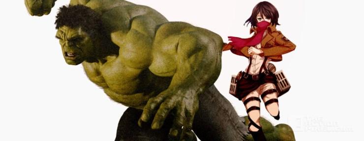 Hulk /Mikasa tag team THE ACTION PIXEL @theactionpixel