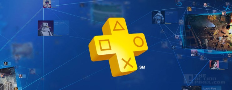 Playstation Plus. THE ACTION PIXEL @theactionpixel
