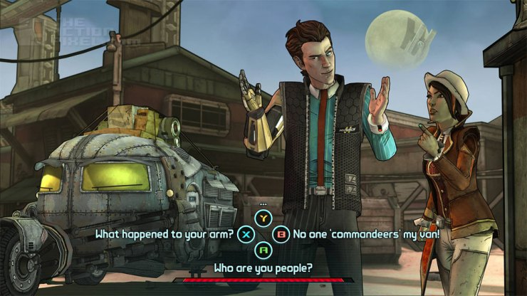 Tales From The Borderlands. THE ACTION PIXEL @theactionpixel
