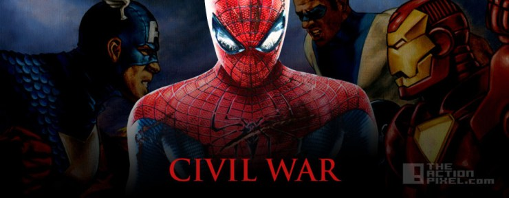 CIVILWAR SPIDERMAN. The Action Pixel. @TheActionPixel