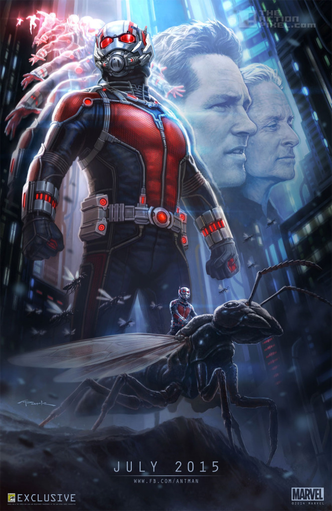 Ant Man Poster. Marvel. @TheActionPixel. The Action Pixel