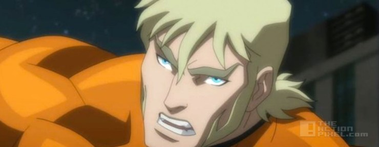 aquaman in Justice League: Throne of Atlantis. The Action pixel. @Theactionpixel
