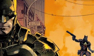 batman Arkham Knight comic cover. Dc comics. The Action Pixel. @TheActionPixel