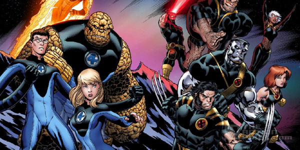 fantastic4 xmen team up. The Action Pixel. @TheActionPixel