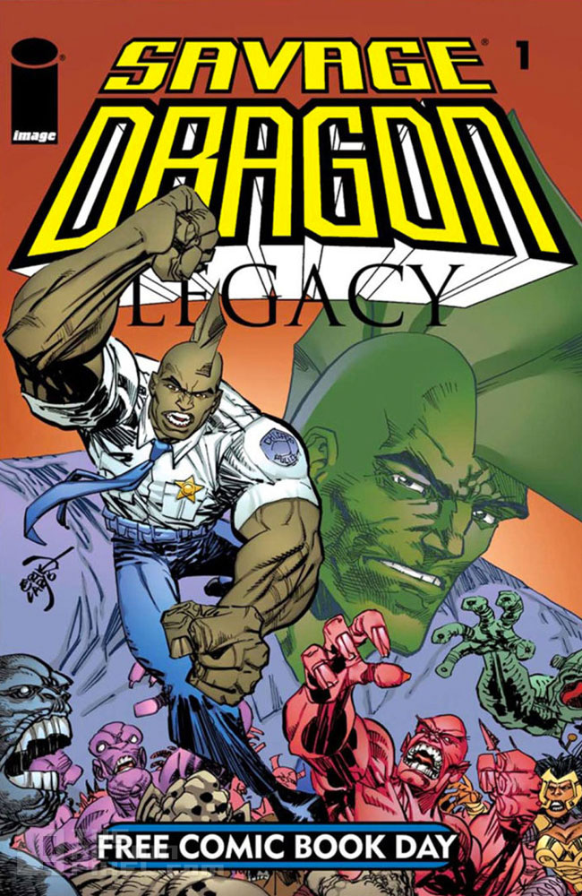 image comics / Dragon legacy. The Action Pixel. @TheActionPixel