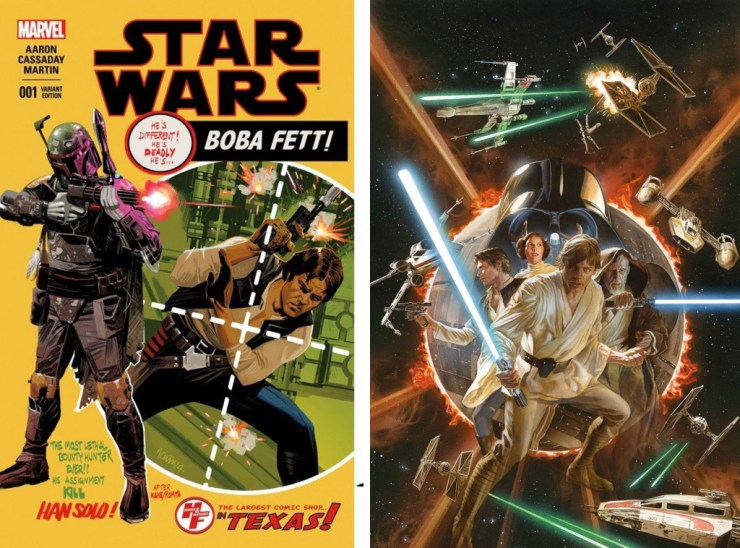 star wars variant cover. Marvel. The Action Pixel. @TheActionPixel