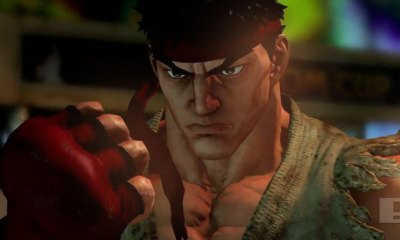 street fighter V. The Action Pixel. @TheActionPixel