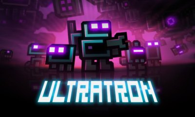 Puppygames' Ultratron. The Action Pixel. @Theactionpixel