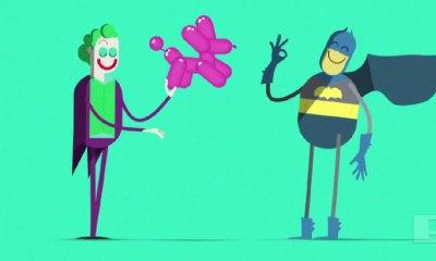 batman Joker archenemies ad. McDonalds. The Action Pixel. @TheActionPixel