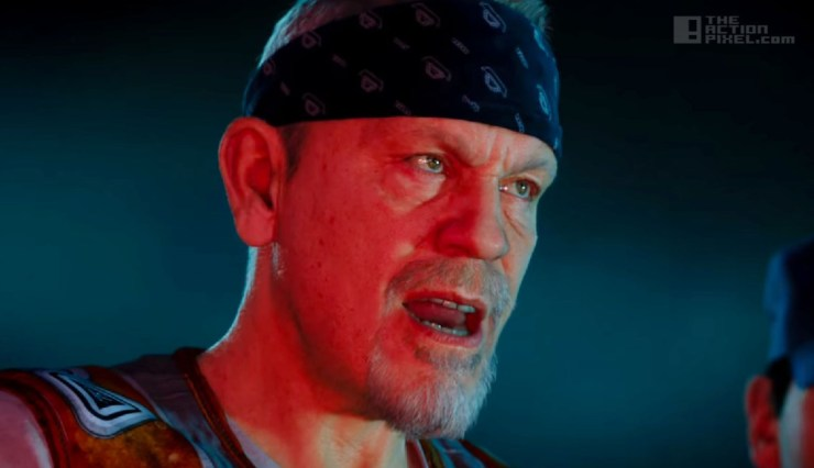 call of duty Advanced warfare exozombes . John Malkovich. the action pixel @theactionpixel