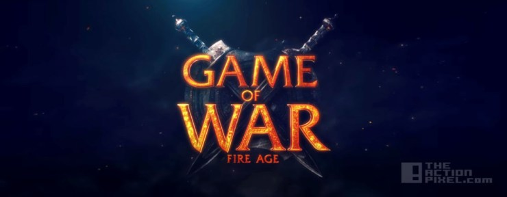 game of war Fire age. the action pixel. @theactionpixel