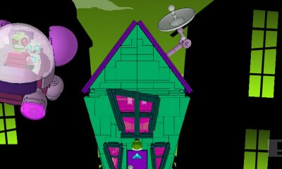 invader zim lego house and voot. The action pixel. @theactionpixel