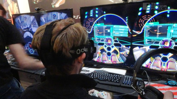 Oculus VR at Rezzed. The Action pixel. @theactionpixel