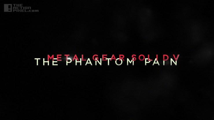 mgsv: phantom pain. konami. Theactionpixel @theactionpixel
