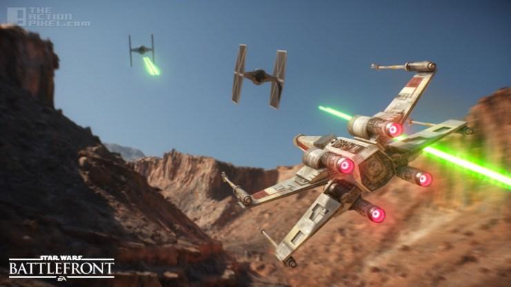 Star Wars battlefront. dice games. ea. the action pixel. @theactionpixel