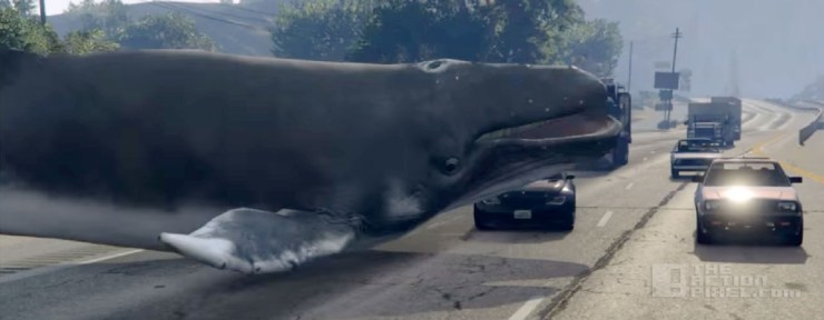 whale GTA V mod. rockstar. the action pixel. @theactionpixel