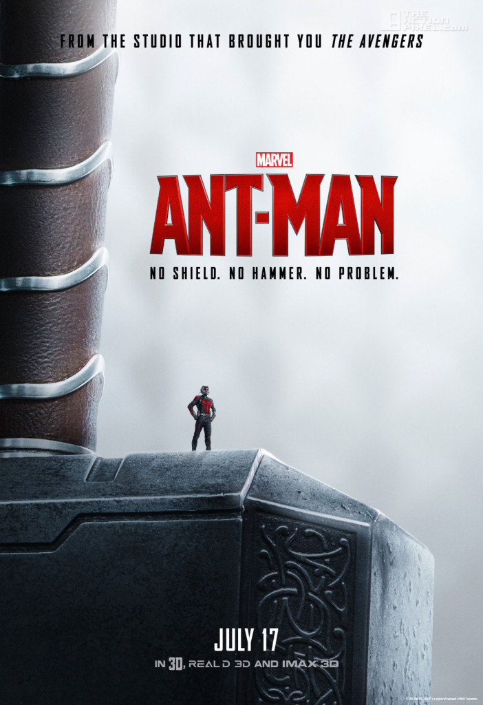 Ant-Man Thor Mjolnir poster. ant-man. marvel. the action pixel. @theactionpixel.