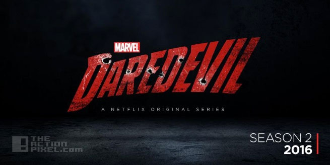 daredevil logo season 2. netflix. marvel. the action pixel. @theactionpixel