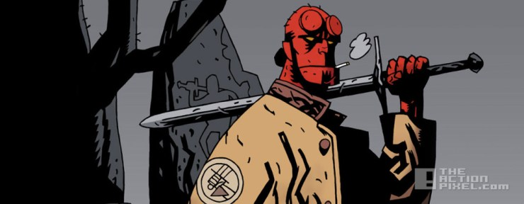 hellboy. image comics. the action pixel. @theactionpixel