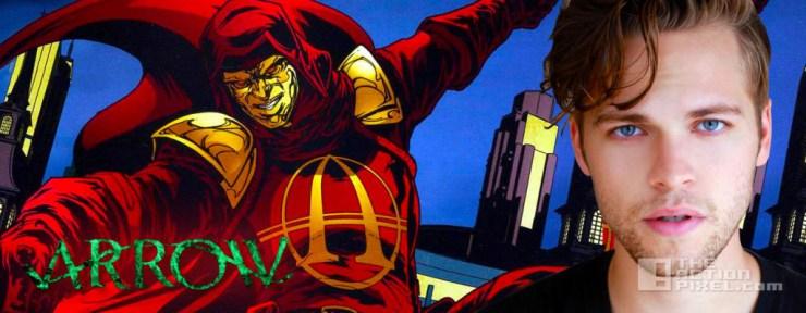 anarky alexander calvert arrow. the cw . dc comics. the action pixel. @theactionpixel