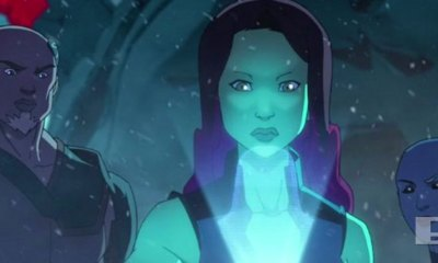gamora. marvel's guardians of the galaxy. marvel. entertainment on tap. the action pixel. @theactionpixel