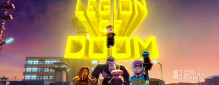 LEGO DC Comics Super Heroes - Justice League: Attack of the Legion of Doom. dc comics. wb animation. lego. the action pixel. @theactionpixel