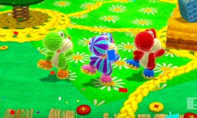 yoshi's woolly world. the action pixel. @theactionpixel. entertainment on tap. nintendo
