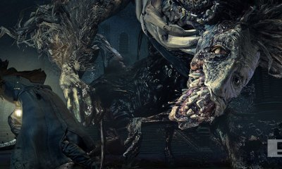 bloodborne the old hunter. the action pixel. @theactionpixel. from software