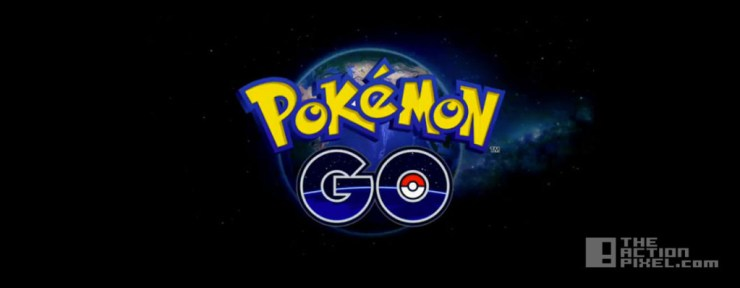 pokemon go device. the action pixel. @theactionpixel. nintendo