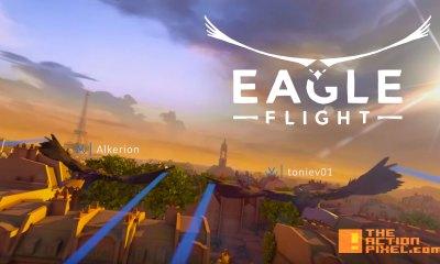 EAGLE FLIGHT. UBISOFT. THE ACTION PIXEL. @THEACTIONPIXEL