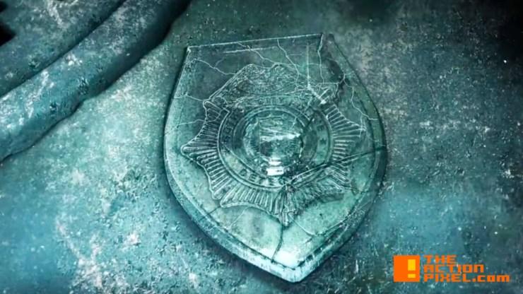 gcpd Badge. gotham. rise of the villains. season 2. the action pixel. @theactionpixel