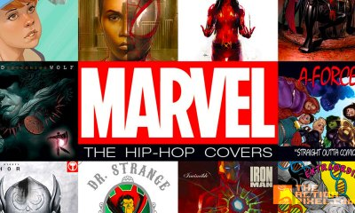 marvel hip-hop covers. variants sampler. the action pixel. @theactionpixel