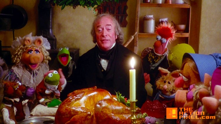 muppet christmas carol.  grumpy northern critic. the action pixel @theactionpixel