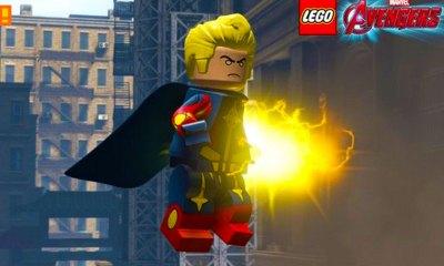 quasar. marvel lego avengers. the action pixel. @theactionpixel