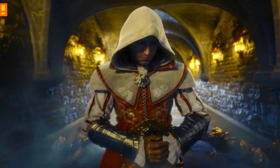 Assassin's Creed Identity. the action pixel. ubisoft. entertainment on tap