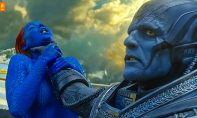 apocalypse. mystique. x-men. 20th century fox. the action pixel. marvel. @theactionpixel