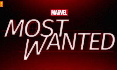 most wanted-logo. marvel. abc. the action pixel. @theactionpixel